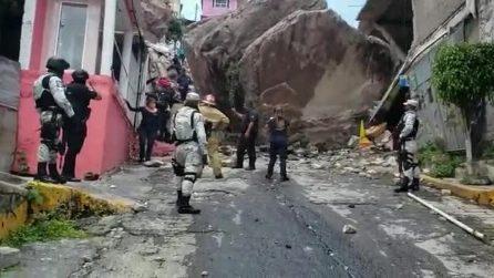 Spaventosa frana in Messico: seppellite diverse abitazioni