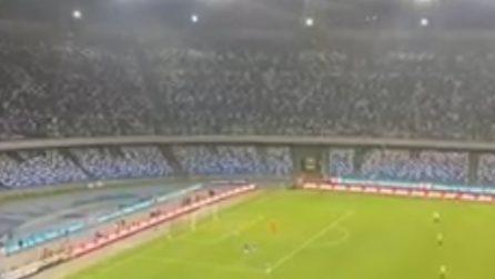 Napoli-Juventus 2-1, l'urlo del Maradona al gol di Koulibaly
