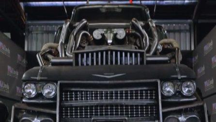 I folli e mostruosi veicoli di Mad Max Fury Road all'asta