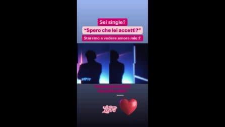 """Vera Miales commenta l'entrata di Amedeo Goria: """"Entri da single? Vedremo"""""""