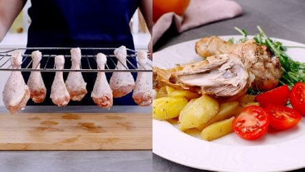 Chicken legs: a quick trick for an exquisite dish!