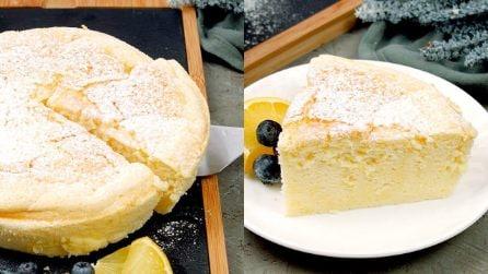 Torta soffice allo yogurt e limone: una delizia pronta con pochi ingredienti!