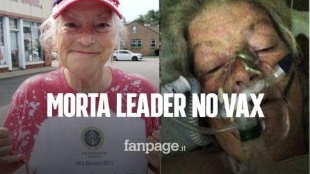 Morta di Covid la leader no vax Veronica Wolski, la 64enne voleva farsi curare con l'ivermectina