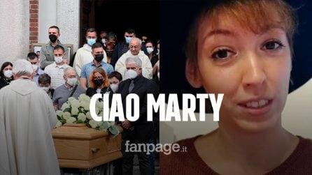 """Funerali Martina Luoni, il commovente messaggio del papà: """"Ora sei finalmente libera, ciao leonessa"""""""