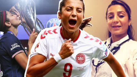 Scappa dalla guerra in Afghanistan e diventa un'icona del calcio femminile: la storia di Nadia Nadim