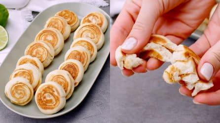 Girelle al burro di arachidi: impossibile resisterle!