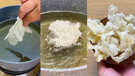 Chips di riso soffiate: il trucchetto per preparare un gustoso snack in casa!