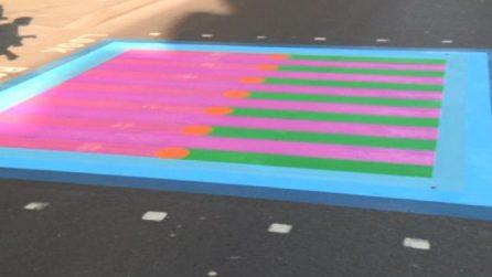A Londra le strisce pedonali colorate per il turismo