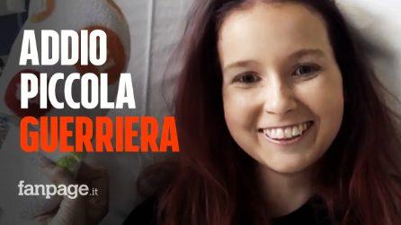 """Laura muore a 14 anni per un tumore: su youtube """"Big C Little Warrior"""" raccontava la sua battaglia"""