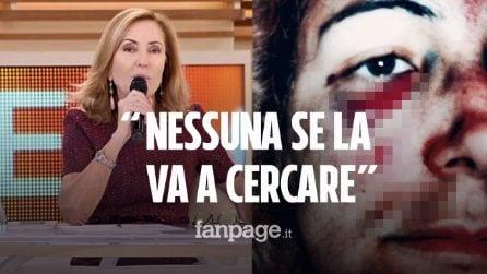 """Patrizia, sopravvissuta alla violenza del marito, risponde a Palombelli: """"Questa sono io"""""""