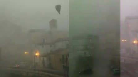 Maltempo, la tempesta impressionante su Campobasso