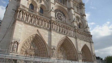 Notre-Dame de Paris, terminati i lavori di messa in sicurezza