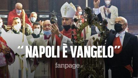 """San Gennaro 2021, l'arcivescovo Battaglia: """"Solo chi ama Napoli potrà amministrarla"""""""
