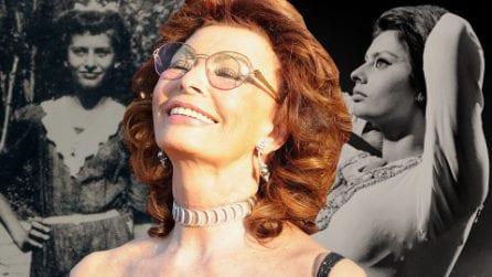"""Da piccola la chiamavano """"stuzzicadenti"""": la storia di Sophia Loren, la regina del cinema italiano"""