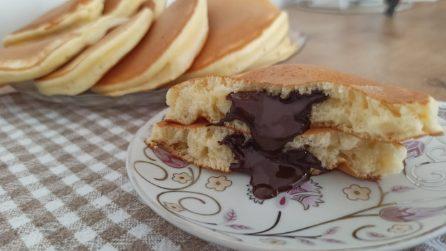 Pancakes ripieni: la ricetta per averli ancora più golosi