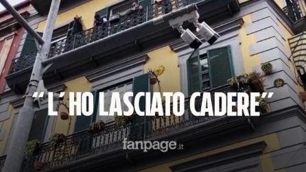 """Bimbo morto a Napoli: """"Ho lasciato cadere Samuele, poi sono andato a mangiare una pizza"""""""