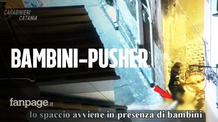 Bambini-pusher a Catania: incassavano soldi e dicevano ai clienti dove prendere la droga