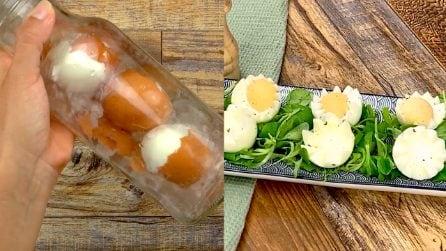 Come sgusciare le uova sode in un attimo, i trucchi velocissimi da provare!