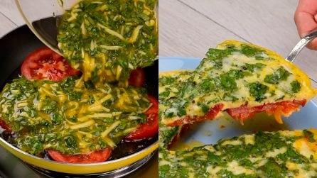 Frittata di spinaci e pomodoro: la versione leggera dal gusto unico!