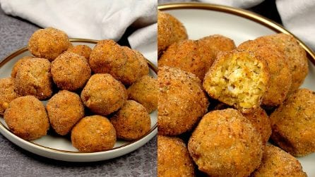 Chickpeas balls: the vegetarian recipe ready in no time!
