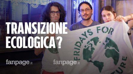 """Lo sciopero di Fridays For Future: """"Il piano di transizione ecologica del Governo Draghi non basta"""""""