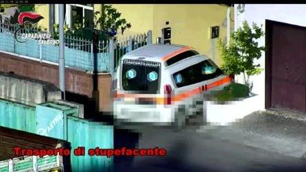 A Salerno 56 arresti per droga, come corrieri anche le ambulanze con pazienti a bordo