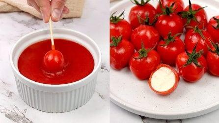 Finti pomodori: l'idea per un antipasto facile e originale!
