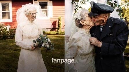 Sposi durante la seconda guerra mondiale, dopo 77 anni la casa di riposo organizza il matrimonio