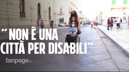 """Anna e l'incubo di essere disabile a Reggio Calabria: """"Non è una città per noi, neanche le pedane"""""""
