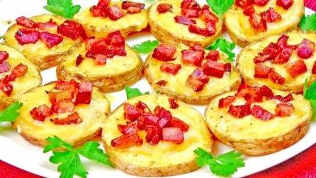 Tartine di patate: la ricetta del contorno veloce e saporito