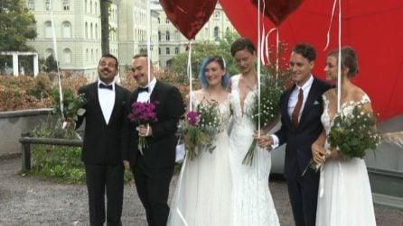 La Svizzera dice sì ai matrimoni omosessuali