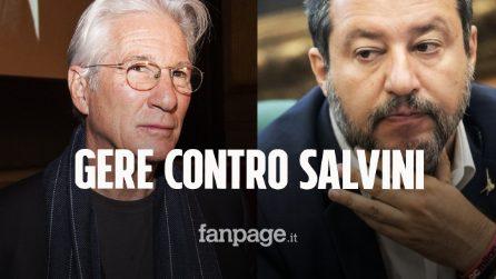 RichardGere testimonierà contro Salvini nel processo Open Arms