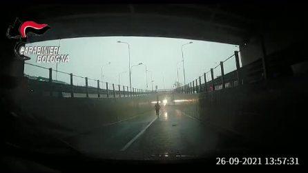 Maltempo Bologna, intrappolata in auto rischia di annegare: salvata dai carabinieri