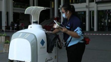Singapore, robot delivery per la spesa e gli acquisti pesanti