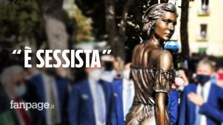 """""""La statua della Spigolatrice di Sapri è sessista"""". L'autore: """"L'avrei fatta nuda"""": è polemica"""