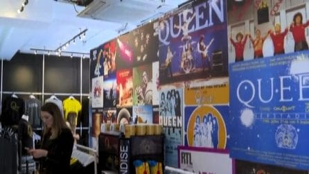 Il negozio dei Queen a Londra per celebrare 50 anni di musica