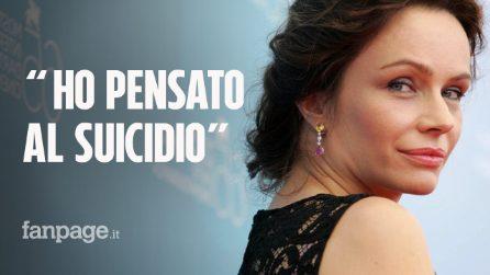 """Francesca Neri sulla sua malattia: """"La cistite interstiziale, per il dolore ho pensato al suicidio"""""""