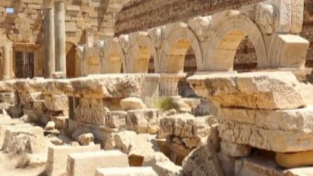 Leptis Magna, gioiello dell'impero romano trascurato dalla Libia