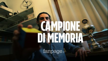 """Andrea Muzii è campione mondiale di memoria a 20 anni: """"Non basta il talento, serve allenamento"""""""