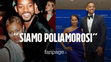 """Will Smith e la moglie Jada rifiutano la monogamia: """"Il matrimonio non può essere una prigione"""""""
