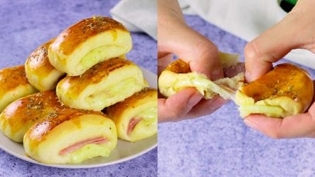 Air fryer buns: how to make them soft and warm in no time!