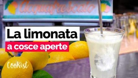 """L'Acquafrescaia Carolina racconta la tradizione della """"limonata a cosce aperte"""""""