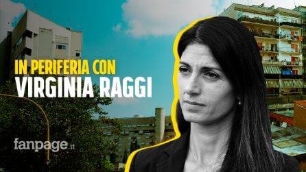 """Con Virginia Raggi a Morena: """"Sono la sindaca delle periferie perché in periferia io ci vivo"""""""
