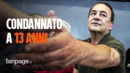 L'ex sindaco di Riace Mimmo Lucano condannato a 13 anni e due mesi di carcere