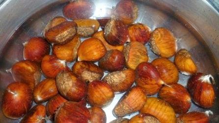 Come bollire le castagne e averle perfette e saporite