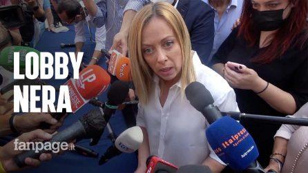 """Meloni risponde a Fanpage: """"In FdI nessun spazio a nazisti, se qualcuno li ha cercati per 10 voti ha fatto grave errore"""""""