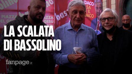 """Elezioni, la chiusura di Bassolino: """"Dobbiamo fare l'ultimo tratto, andiamo al ballottaggio"""""""