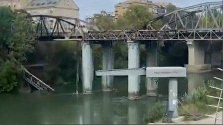 Incendio Ponte di Ferro, cosa resta della struttura il giorno dopo