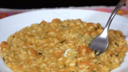Risotto zucca e gorgonzola: la ricetta del primo piatto squisito