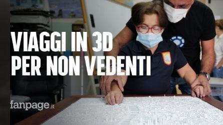 """Beatrice 13 anni e non vedente """"viaggia"""" con le mani grazie alla stampe in 3D"""